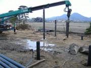 2006年3月23日 鋼管杭