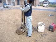 2007年10月16日 地盤調査