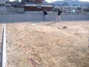 2008年2月19日 掘り方準備